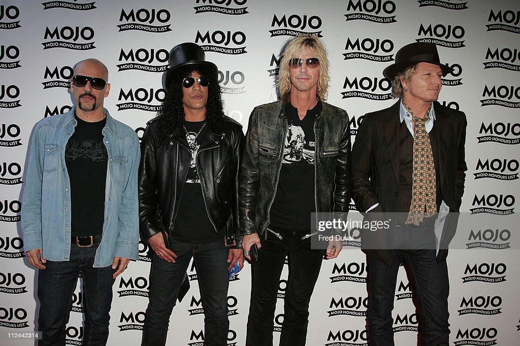 Dave Kushner, Slash, Duff McKagan and Matt Sorum of Velvet Revolver