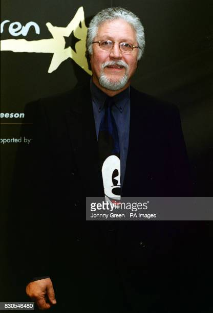 DJ Dave Lee Travis arrives at Sotheby's in central London for the celebrity preview of film memorabilia auction in aid of Unicef Ireland's Movie...