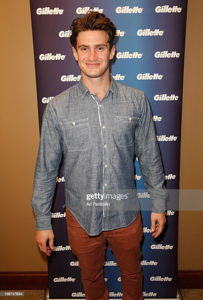 Dave Lingwood attends Gillette Ask Couples at Sundance to 'Kiss & Tell' if They Prefer Stubble or Smooth Shaven - Day 2 on January 19, 2013 in Park City, Utah.