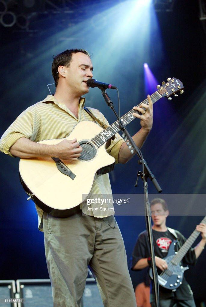 Dave Matthews and Stefan Lessard of Dave Matthews Band