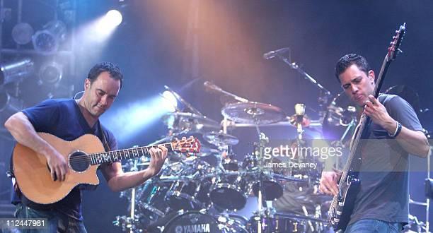 Dave Matthews and Stefan Lessard of the Dave Matthews Band