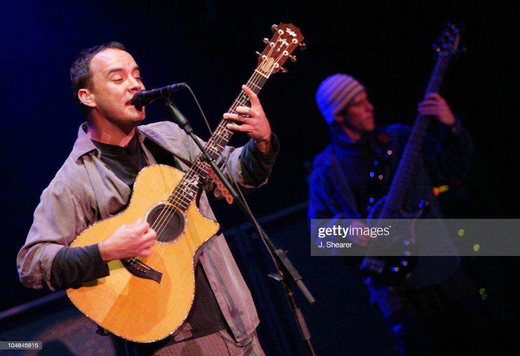 Dave Matthews Band in Concert at Shoreline