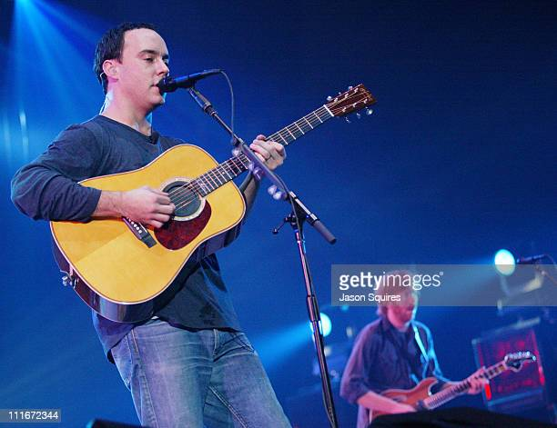 Dave Matthews and Trey Anastasio of Phish during Dave Matthews and Friends Perform in Chicago at Allstate Arena in Rosemont Illinois United States