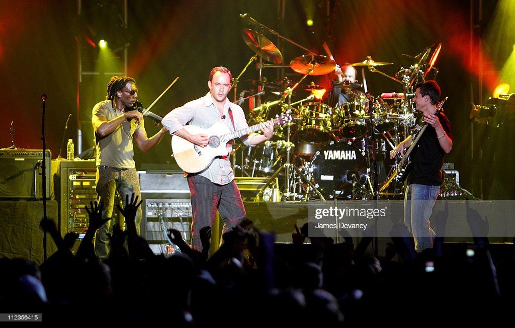 Dave Matthews Band Performs AOL Music Live! Concert at Roseland Ballroom - May