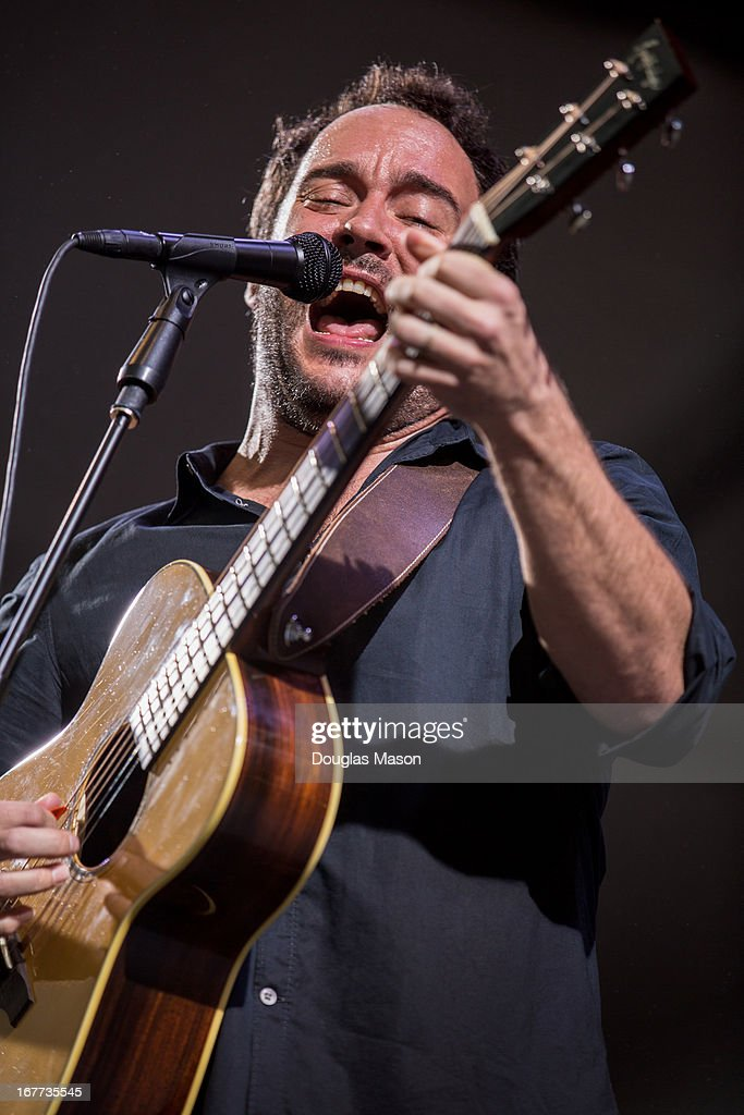 <a gi-track='captionPersonalityLinkClicked' href=/galleries/search?phrase=Dave+Matthews&family=editorial&specificpeople=203324 ng-click='$event.stopPropagation()'>Dave Matthews</a> Band performs during the 2013 New Orleans Jazz & Heritage Music Festival at Fair Grounds Race Course on April 28, 2013 in New Orleans, Louisiana.