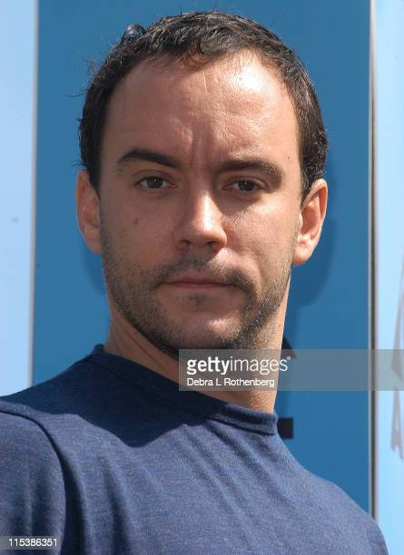 Dave Matthews during Dave Matthews Band Hold a Press Conference to Announce Their Concert on September 24 2003 to Benefit New York City Public...