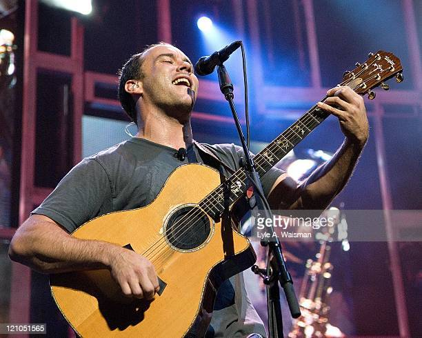 Dave Matthews during Dave Matthews Band in Concert at First Midwest Bank Amphitheatre September 15 2006 at First Midwest Bank Amphitheatre in Tinley...