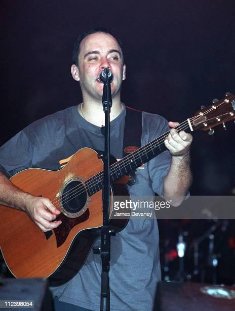 Dave Matthews during Dave Matthews Band in Concert at Madison Square Garden in 2000 at Madison Square Garden in New York City New York United States