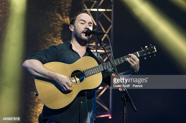 Dave Matthews from Dave Matthews Band performs at Le Zenith on November 5 2015 in Paris France