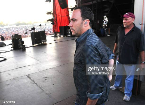 Dave Matthews of Dave Matthews Band performs at The Odeum during Rothbury 2008 on July 5 2008 in Rothbury Michigan
