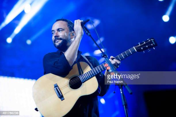 Dave Matthews performs at FirstMerit Bank Pavilion at Northerly Island on July 4 2014 in Chicago Illinois
