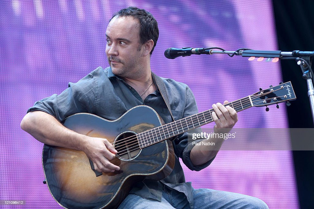 Dave Matthews performs during Farm Aid 2011 at the LiveStrong Sporting Park on August 13, 2011 in Kansas City, Kansas.