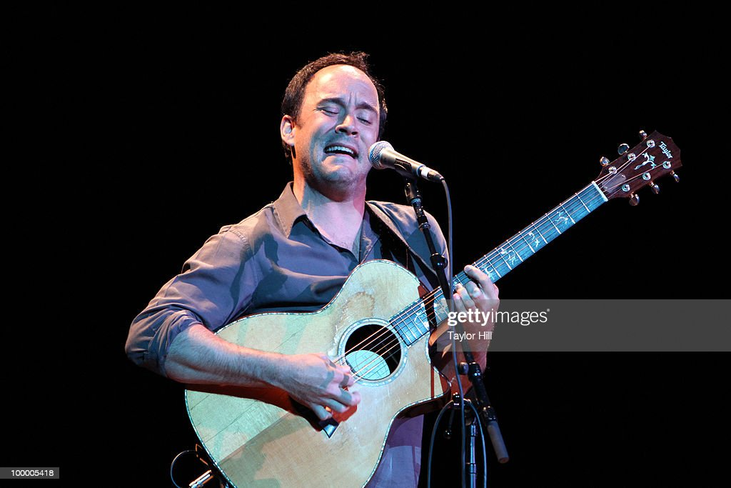 Dave Matthews performs during the Music Saves Mountains benefit concert at the Ryman Auditorium on May 19, 2010 in Nashville, Tennessee.