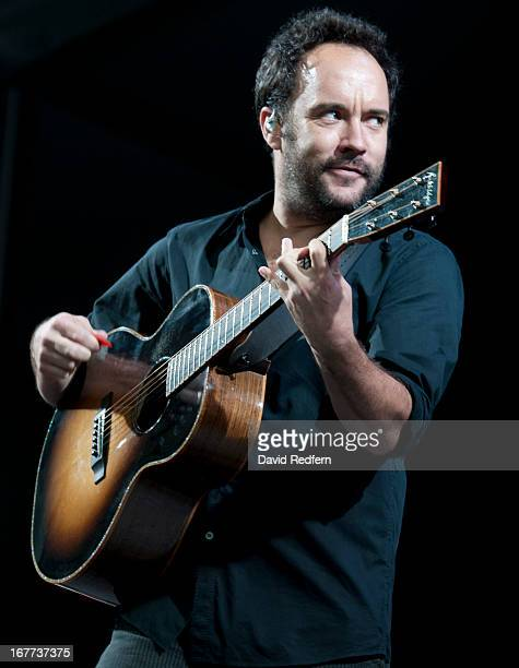 Dave Matthews performs on stage on Day 3 of New Orleans Jazz Festival on April 28 2013 in New Orleans Louisiana