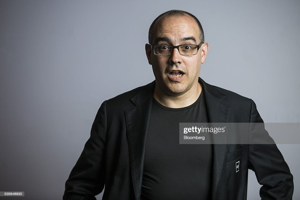 Dave McClure, chief executive officer and founder of 500 Startups, reacts as he stands for a photograph following a Bloomberg Television interview at the Rise conference in Hong Kong, China, on Tuesday, May 31, 2016. The conference runs through June 2. Photographer: Justin Chin/Bloomberg via Getty Images
