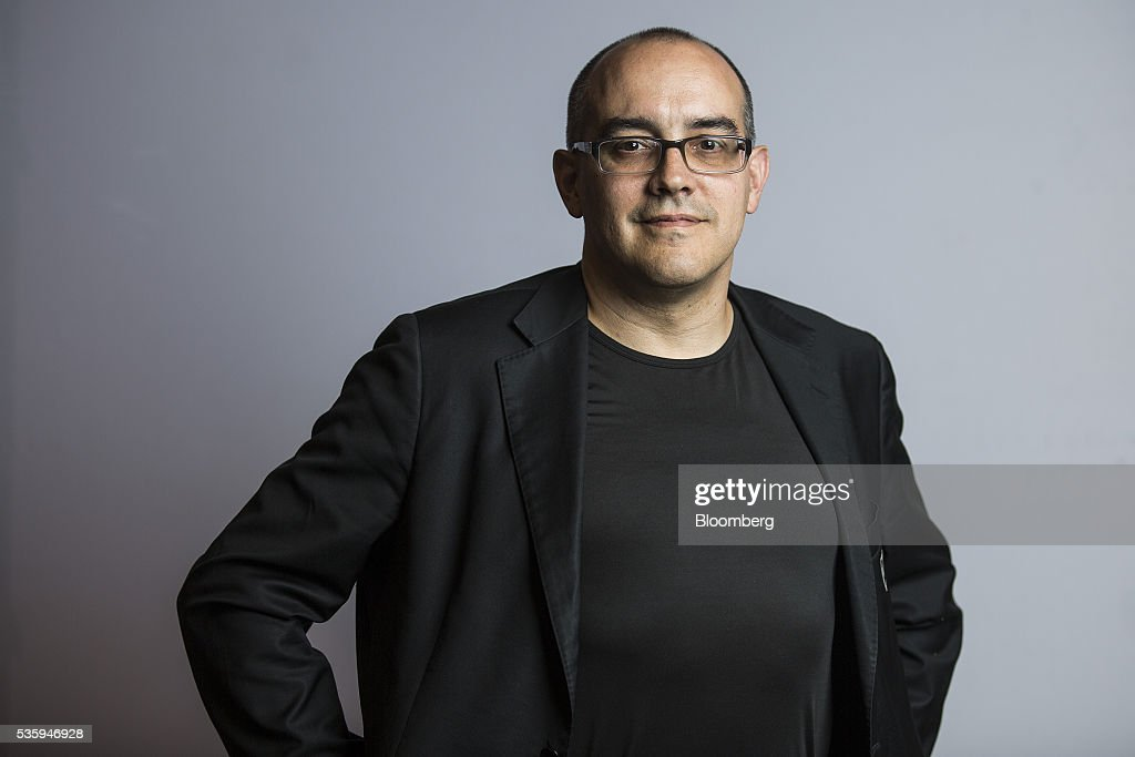 Dave McClure, chief executive officer and founder of 500 Startups, poses for a photograph following a Bloomberg Television interview at the Rise conference in Hong Kong, China, on Tuesday, May 31, 2016. The conference runs through June 2. Photographer: Justin Chin/Bloomberg via Getty Images