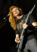 Dave Mustaine of Megadeth during Megadeth Live in Concert 2007 at Los Angeles Forum in Los Angeles CA United States