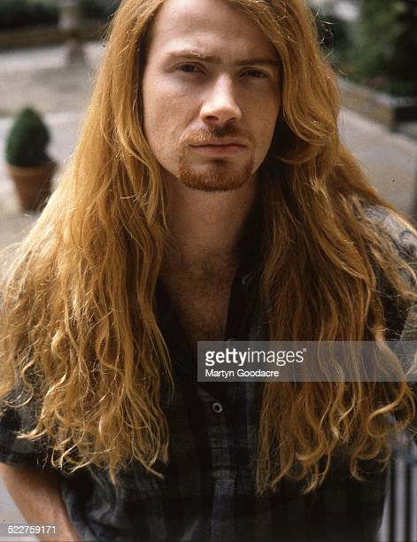 Dave Mustaine of Megadeth portrait London United Kingdom 1992