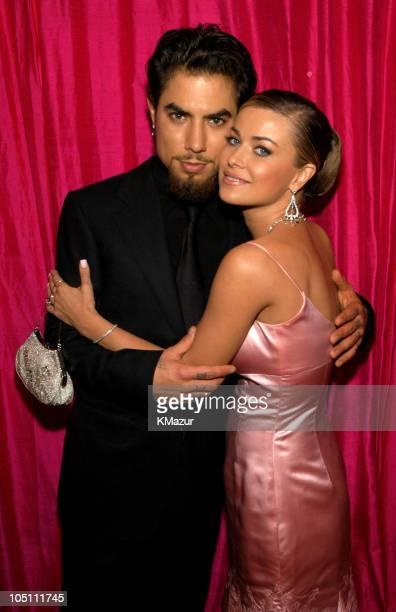Dave Navarro and Carmen Electra during Elton John AIDS Foundation's 11th Annual Oscar party cohosted by In Style and AOL in association with MAC...