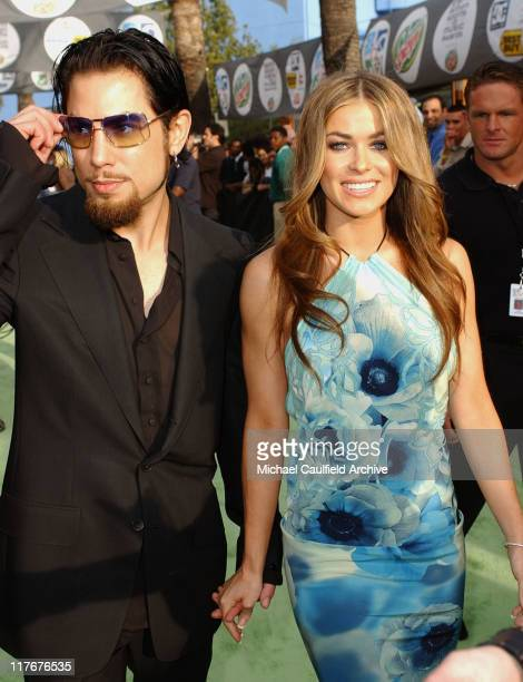 Dave Navarro and Carmen Electra during ESPN Action Sports and Music Awards Arrivals at The Universal Amphitheater in Universal City California United...