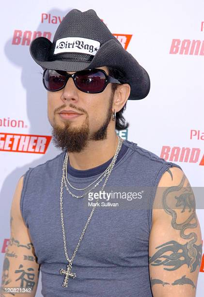 Dave Navarro during BANDtogether Presented by PlayStation Arrivals at Smashbox Studios in Culver City California United States