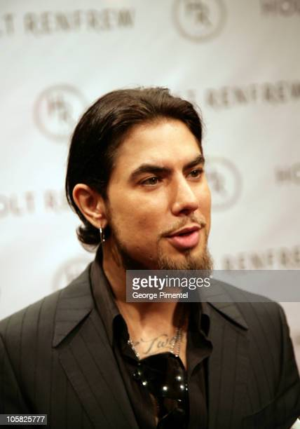 Dave Navarro during Holt Renfrew Launch Party in Vancouver at Pacific Centre Holt Renfrew Store in Vancouver British Columbia Canada