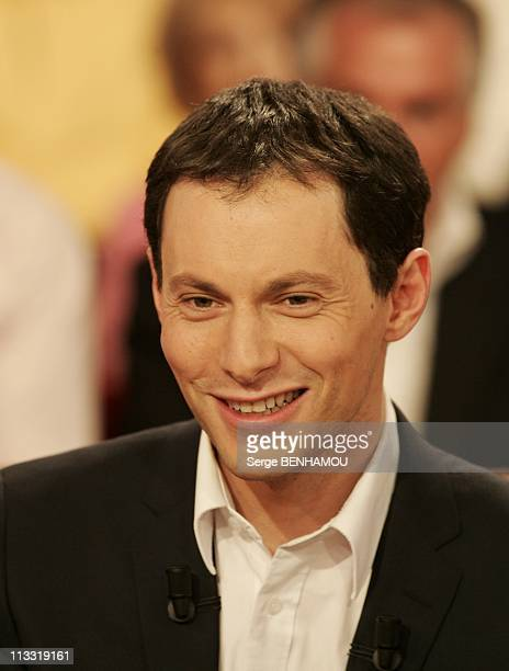Dave On 'Vivement Dimanche' Tv Show On March 29Th 2006 In Paris France Here MarcOlivier Fogiel