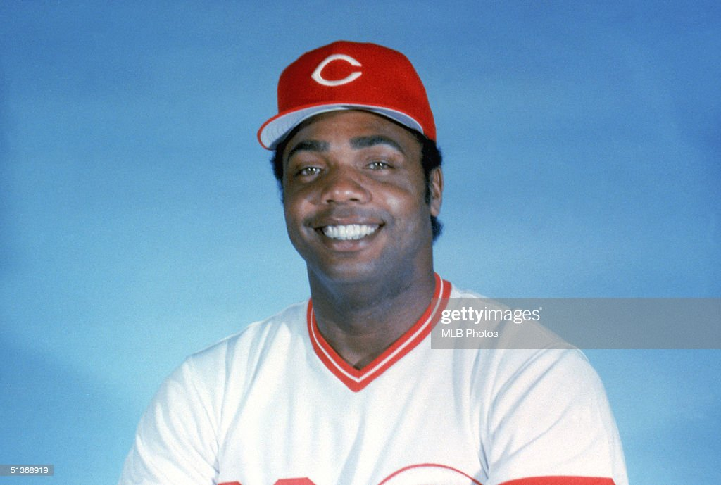 Dave Parker of the Cincinnati Reds poses for a portrait Dave Parker played for the Cincinnati Reds from 19841987