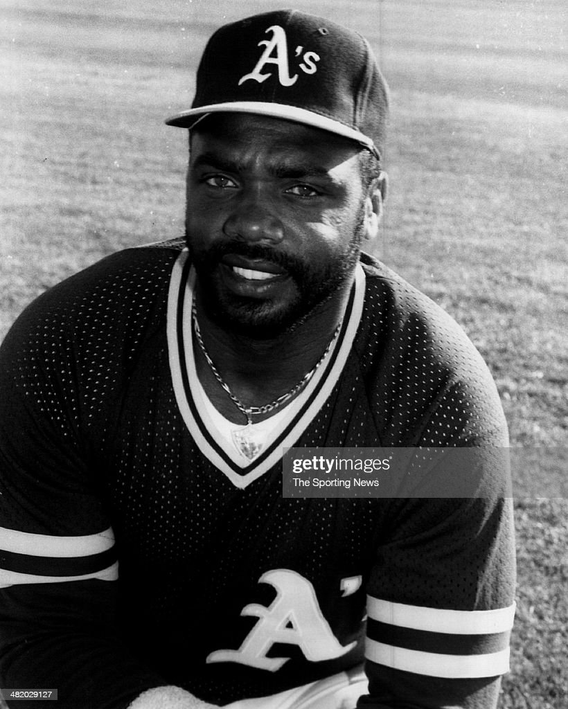 Dave Parker of the Oakland Athletics poses for a photo circa 1980s