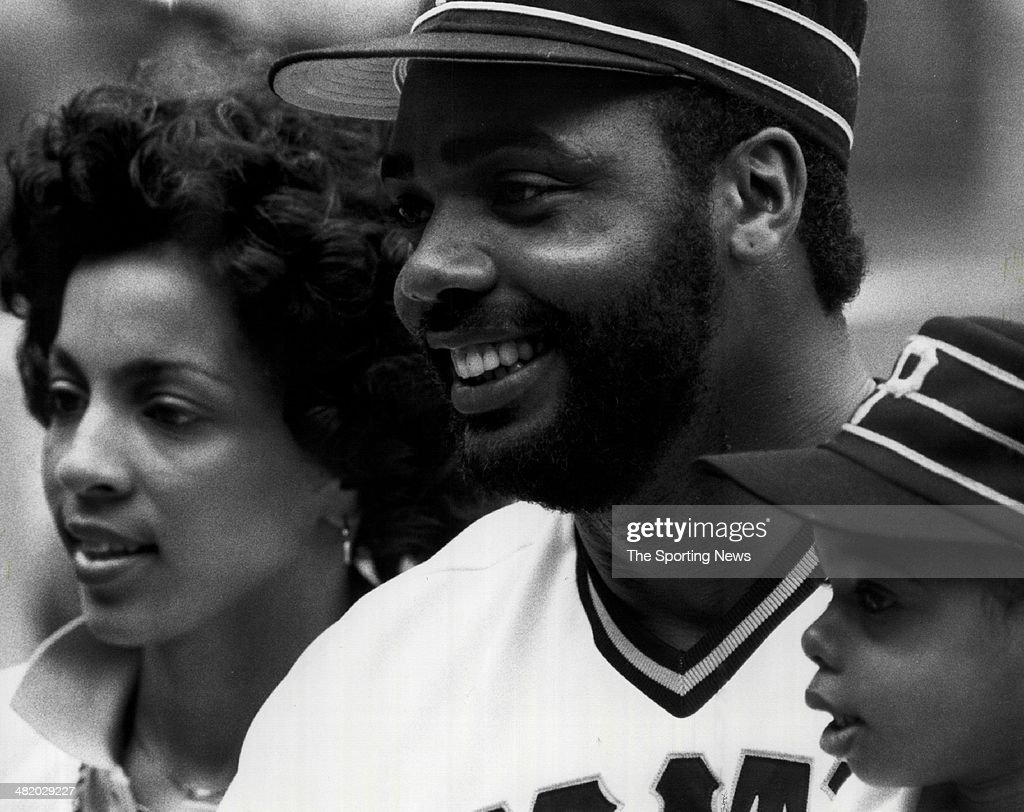 Dave Parker of the Pittsburgh Pirates poses for a photo circa 1980s