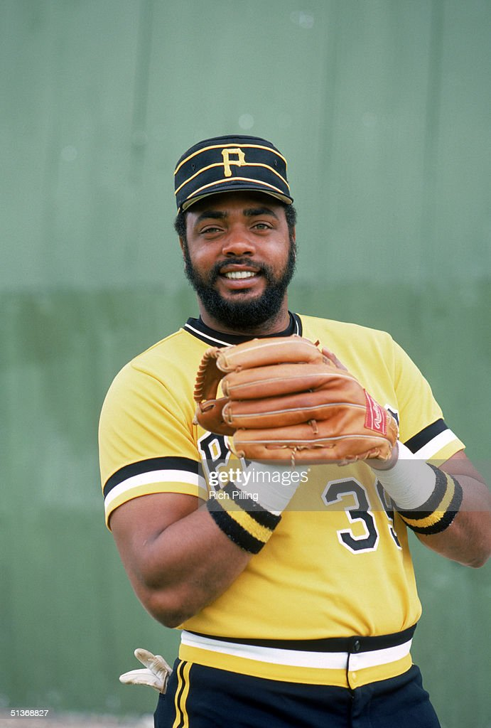 Dave Parker of the Pittsburgh Pirates poses for a portrait circa 19731983 at Three Rivers Stadium in Pittsburgh Pennsylvania