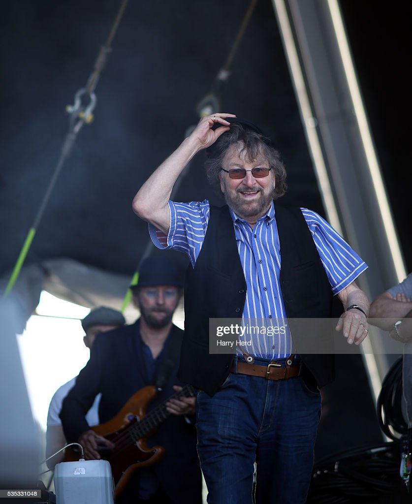 Dave Peacock and Chas Hodges take to the stage at Common People Festival at Southampton Common on May 29, 2016 in Southampton, England.