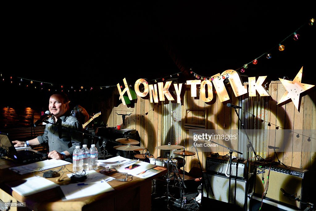 DJ Dave performs onstage at the Honky Tonk during 2016 Stagecoach California's Country Music Festival at Empire Polo Club on May 01, 2016 in Indio, California.