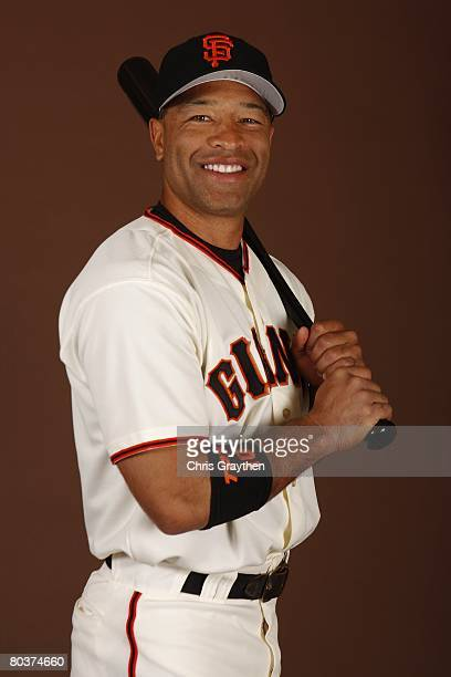 Dave Roberts of the San Francisco Giants poses for a photo during Spring Training Photo Day at Scottsdale Stadium in Scottsdale Arizona
