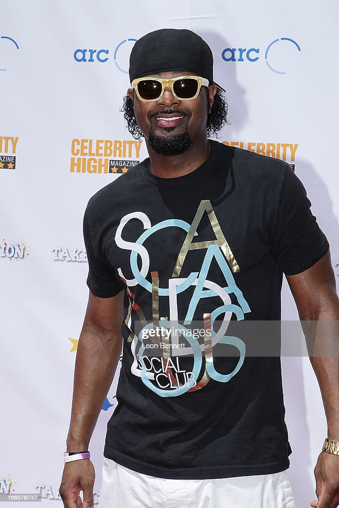 Dave Scott arrived at LAUSD's Beyond The Bell Branch And Nick Cannons Celebrity High Present 'Spotlight On Success' at Paramount Studios on May 11, 2013 in Hollywood, California.