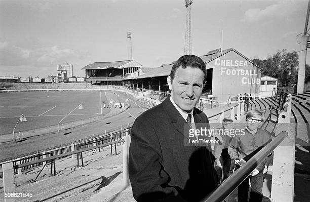 Dave Sexton the new manager of Chelsea FC at the team's home ground in Stamford Bridge London 23rd October 1967