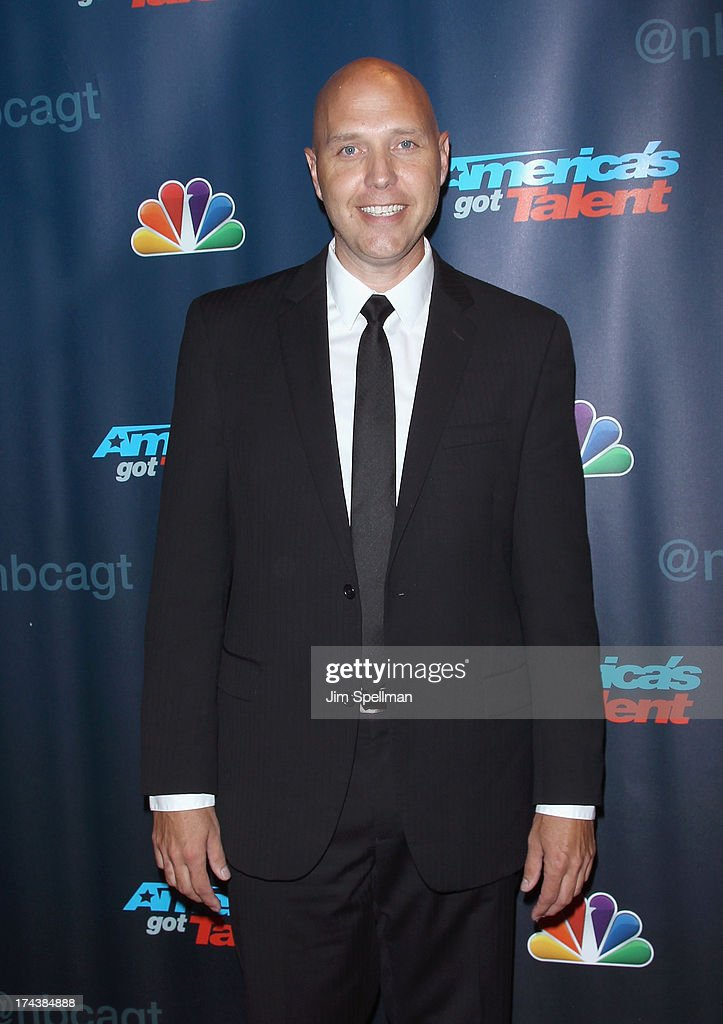 Dave Shirley attends 'Americas Got Talent' Season 8 Post-Show Red Carpet Event at Radio City Music Hall on July 24, 2013 in New York City.