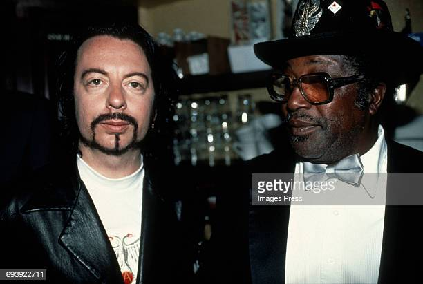 Dave Stewart and Bo Diddley attend the 2nd Annual International Rock Awards circa 1990 in New York City