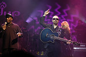 Dave Stewart guitar Jimmy Cliff perform with DUP at the Paradiso on November 11th 2002 in Amsterdam Netherlands