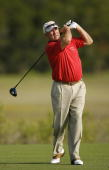 Dave Stockton on the 3rd hole during the first round of the Senior PGA Championship held at Ocean Course at Kiawah Island Golf Resort in Kiawah...