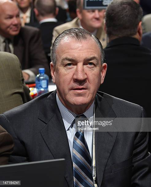 Dave Taylor of the St Louis Blues attends day two of the 2012 NHL Entry Draft at Consol Energy Center on June 23 2012 in Pittsburgh Pennsylvania
