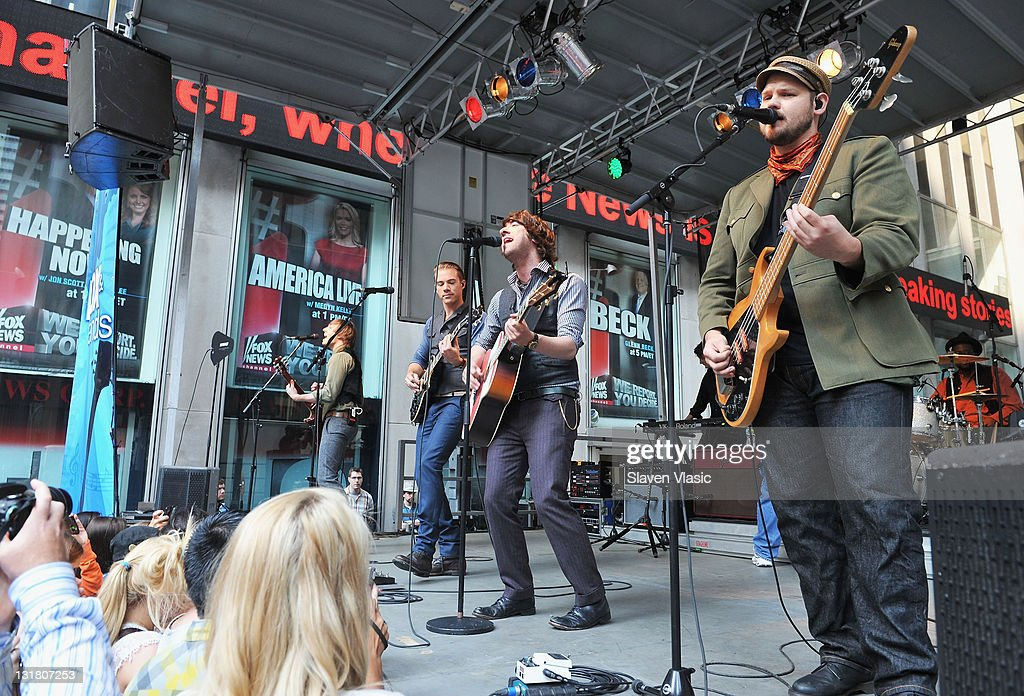 Plain White T's Perform On FOX & Friends