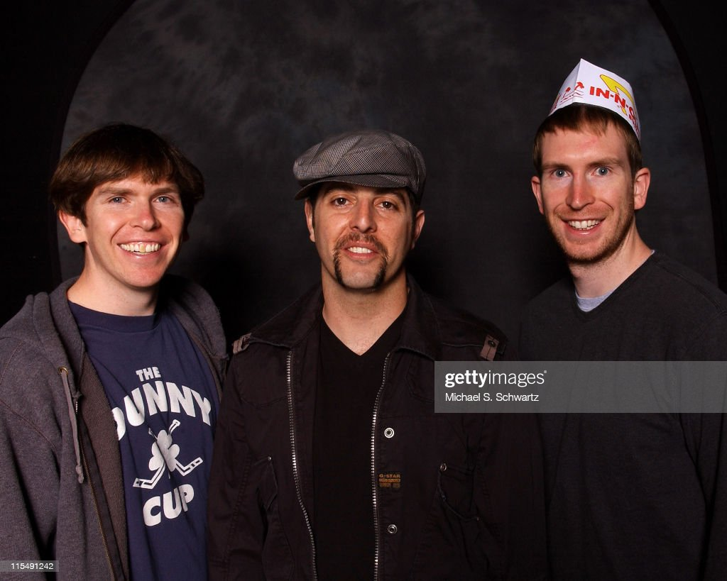 Dave Walsh Sam Tripoli and Chris Walsh poses at the Hollywood Improv on February 28 2008 in Hollywood California