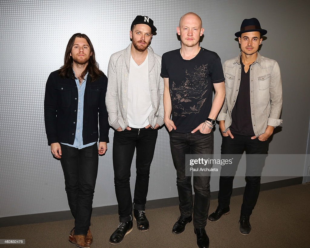The Fray Performs At The 104.3 MY FM Soul By Ludacris Headphones Studio