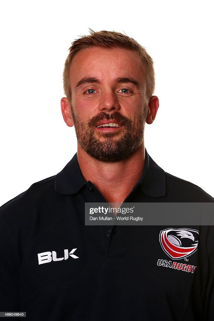 Dave Williams of The USA poses for a portrait during the USA Rugby World Cup 2015 squad photo call on September 13, 2015 in Portsmouth, England.