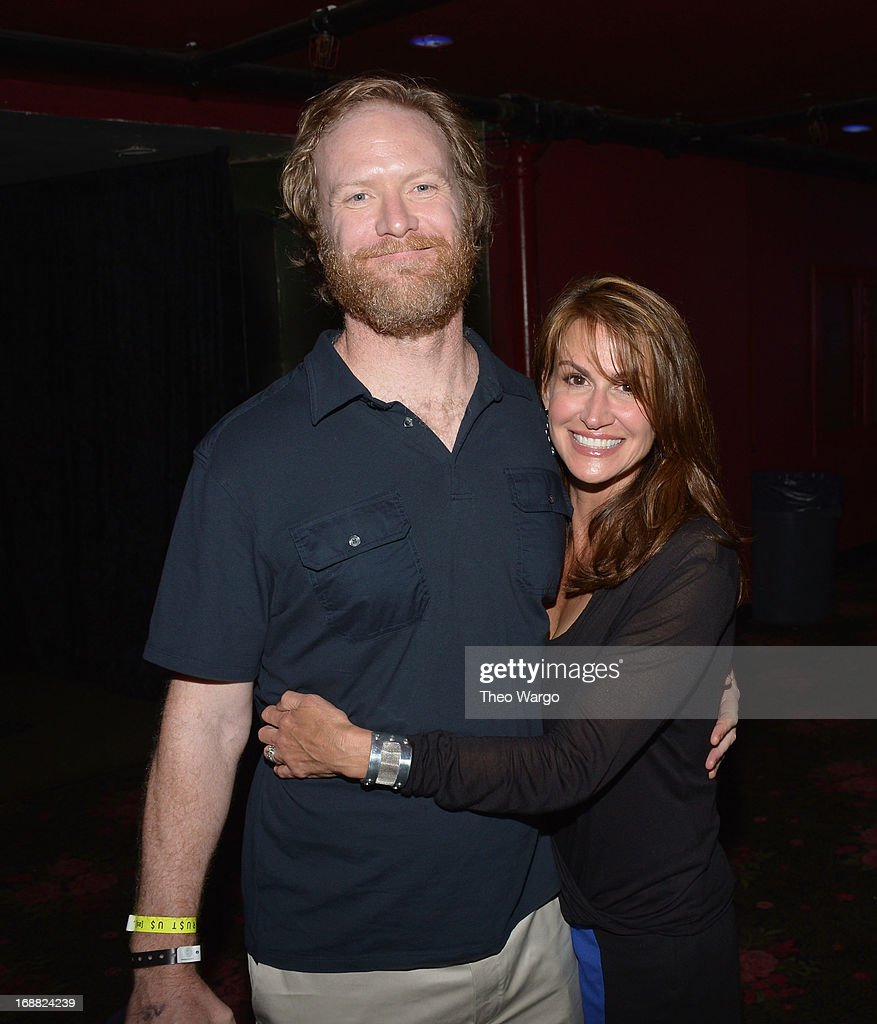 Dave Willis (L) attends the Adult Swim Upfront Party 2013 at Roseland Ballroom on May 15, 2013 in New York City. 23698_002_0054.JPG