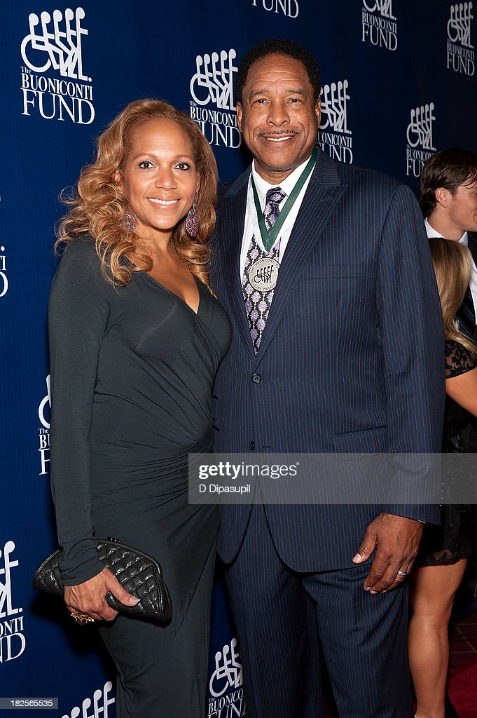 <a gi-track='captionPersonalityLinkClicked' href=/galleries/search?phrase=Dave+Winfield+-+Baseball+Player&family=editorial&specificpeople=203117 ng-click='$event.stopPropagation()'>Dave Winfield</a> (R) and Tonya Turner attend the 28th Annual Great Sports Legends Dinner to Benefit The Buoniconti Fund To Cure Paralysis at The Waldorf=Astoria on September 30, 2013 in New York City.