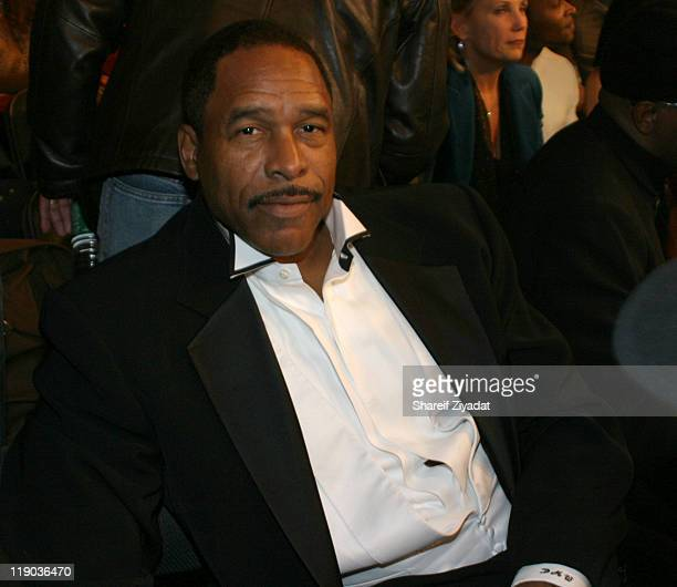 Dave Winfield during Celebrity Guests at Evander Holyfield vs Larry Donald Fight November 13 2004 at Madison Square Garden in New York United States