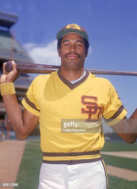 Dave Winfield of the San Diego Padres poses for a portrait Winfield played for the Padres from 19731980