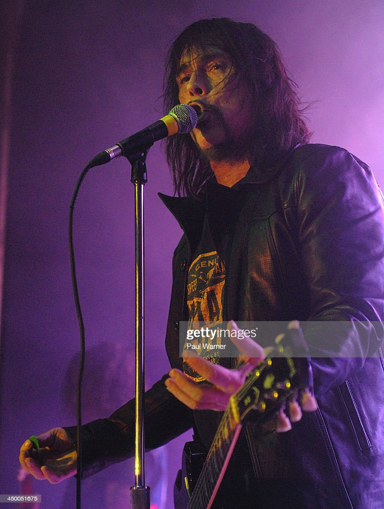 Dave Wyndorf performs with Monster Magnet at St. Andrews Hall on November 15, 2013 in Detroit, Michigan.